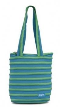 Сумка Zipit Premium Tote Turquise Blue & Spring Green (ZBN-15)