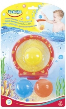 Купить Игрушки для ванной, Игрушка для ванной Bebelino Водный баскетбол (58113)