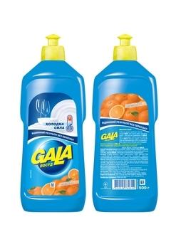 Средство для мытья посуды Gala Апельсин, 500 мл