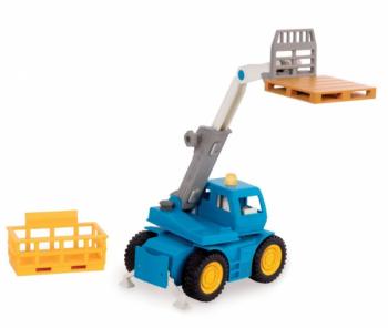 e30337366f0098 Іграшки. Pampik Машинка Driven Micro Автопогрузчик, синий с желтым (WH1016Z)