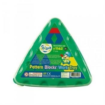 Купить со скидкой Обучающий набор Gigo Занимательная мозаика, треугольный (1162)
