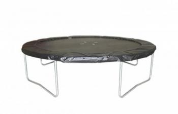 Купить Детский спортивный инвентарь, Батут и защитная сетка Kidigo VIP Black, 304 см (BTV304), Украина