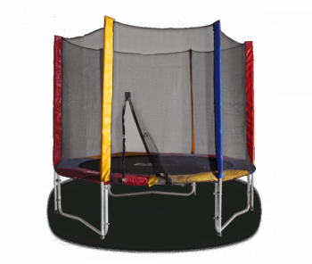 Купить Детский спортивный инвентарь, Батут с защитной сеткой Kidigo, 244 см (BT244), Украина