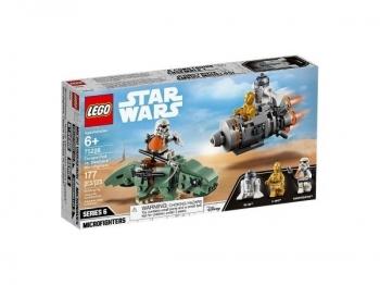 Купить Конструкторы и трансформеры, Конструктор LEGO Star Wars Спасательная капсула Микрофайтеры: дьюбэк, 177 деталей (75228)
