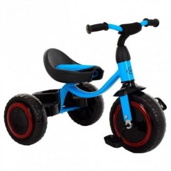 Купить Электромобили, велосипеды и самокаты, Велосипед трехколесный Turbo Trike M 3649-M-2, голубой (21107), Китай