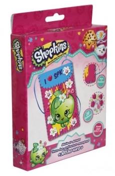 Купить Творчество и канцтовары, Набор для творчества Shopkins Шьем чехол для мобильного телефона Яблочко (119844), Китай