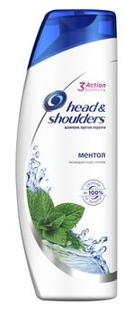 Купить Шампуни и кондиционеры для волос, Шампунь против перхоти Head&Shoulders Ментол, 400 мл, Румыния