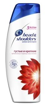 Купить Шампуни и кондиционеры для волос, Шампунь против перхоти Head&Shoulders Густые и крепкие, 400 мл, Румыния