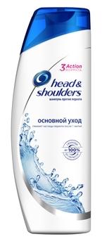 Купить Шампуни и кондиционеры для волос, Шампунь против перхоти Head&Shoulders Основной уход, 400 мл, Румыния