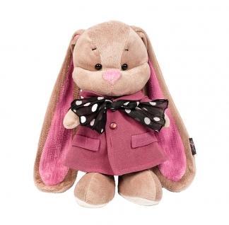 Купить Мягкие игрушки, Мягкая игрушка Jack&Lin Зайка Лин в розовом пальто и шарфике, 25 см (JL-004ST-25), Китай