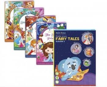 Купить Интерактивные и музыкальные игрушки, Книга интерактивная Smart Koala Сказки, 2 сезон (SKSFTS2), Украина