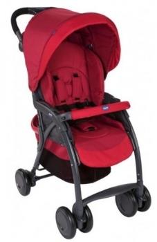 Купить Детские коляски, Прогулочная коляска Chicco Simplicity Top Stroller, красный (79116.30), Италия