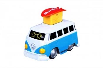 Инерционный автобус Bb Junior Volkswagen Samba Bus, синий (16-85110_синий)