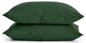 Купить Постельное белье, Наволочка Cosas Премиум, сатин, 70х50 см, зеленый, Украина, Зеленый, Сатин