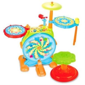 Музыкальная игрушка Hola Toys Барабанная установка (666)