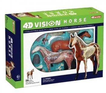 3D Пазл 4D Master Лошадь, 26 элементов (26101)