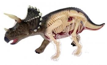 3D Пазл 4D Master Динозавр Трицератопс, 42 элемента (26093)