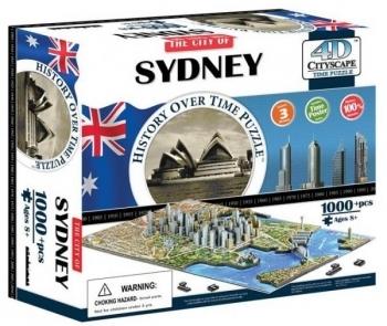 3D Пазл 4D Cityscape Сидней, Австралия, 1000 элементов (40032)