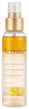 Купить Средства защиты от солнца, Спрей защитный двухфазный для волос Acorelle, органический, 100 мл, Франция