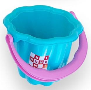 Купить Игрушки для улицы, Детское ведро Simba Волна, голубой (7106525/1142), Голубой