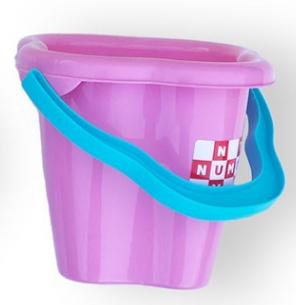 Купить Игрушки для улицы, Детское ведро Simba Башня, сиреневый (7101453/1029), Сиреневый
