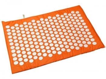 Купить Развивающие и игровые коврики, Коврик массажно-акупунктурный Onhillsport Релакс, 55х40 см, оранжевый (MS-1251-3), Украина, Оранжевый