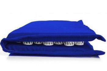 Купить Развивающие и игровые коврики, Коврик массажно-акупунктурный Onhillsport Релакс для стоп, 47х43 см, синий (MS-1271-4), Украина, Синий