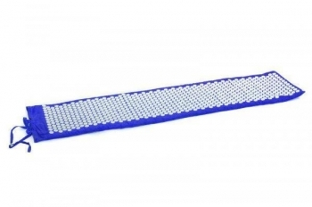 Купить Развивающие и игровые коврики, Коврик массажно-акупунктурный Onhillsport Релакс, 165х40 см, синий (MS-1273), Украина, Синий