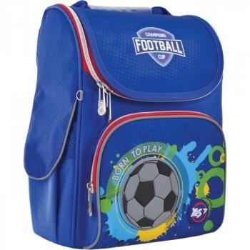 Купить Сумки для прогулок и путешествий, Рюкзак школьный Yes Born To Play H-11, каркасный (556144), Великобритания, Синий
