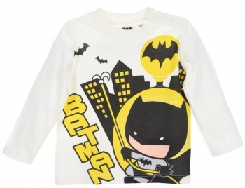 Купить Футболки, регланы и свитера, Футболка Sun City DC Comics Batman, р.68, белый (HS0110), Индия, Белый, Хлопок