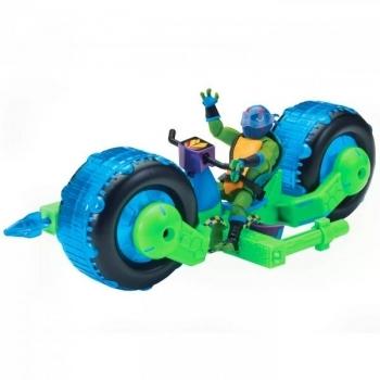 Купить Игрушечный транспорт, Боевой транспорт TMNT Эволюция Черепашек-Ниндзя Мотоцикл Стелс и Леонардо (82481), Китай