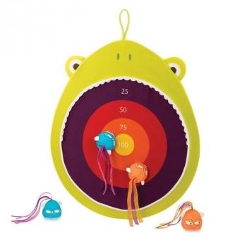 Купить со скидкой Игровой набор Battat Мишень Голодная лягушка (BX1676Z)
