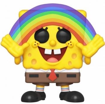 Купить Фигурки, куклы и игрушки-антистресс, Игровая фигурка Funko Pop Губка Боб Квадратные Штаны с Радугой (39552), Вьетнам