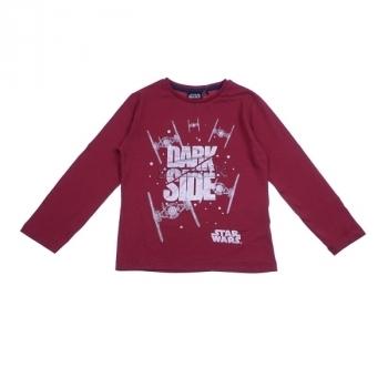 Купить Футболки, регланы и свитера, Футболка Sun City Disney Star Wars, р.116, красный (HS1286), Индия, Красный, Хлопок
