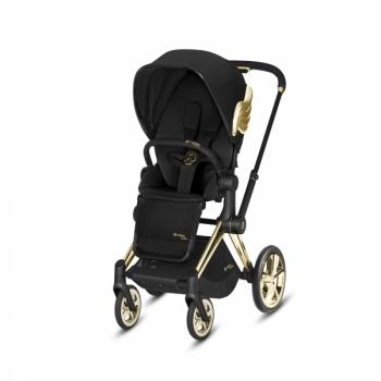 Купить Детские коляски, Прогулочная коляска Cybex Priam JS Wings black, черный (519001979), Германия, Черный