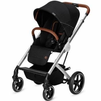 Купить Детские коляски, Прогулочная коляска Cybex Balios S Denim Lavastone Black, черный (519001485), Германия, Черный