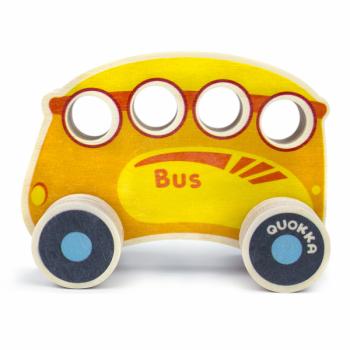 Машинка деревянная Quokka Автобус (QUOKA93PTB)