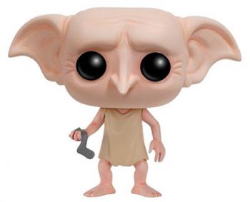 Купить Фигурки, куклы и игрушки-антистресс, Игровая фигурка Funko Pop Гарри Поттер Добби с носком (6561), Вьетнам