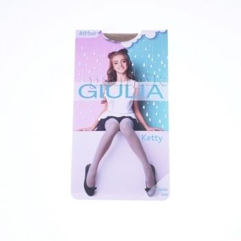 Купить Колготки, носки, леггинсы, Колготки Giulia Ketty, 40 DEN, р.128-134, бежевый, Украина, Бежевый