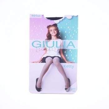 Купить Колготки, носки, леггинсы, Колготки Giulia Ketty, 40 DEN, р.128-134, черный, Украина, Черный