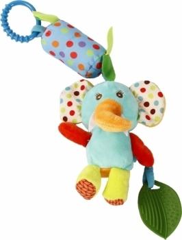 Купить Подвески, дуги и растяжки, Мягкая игрушка-подвеска Lindo Слон (F 1001 слон), Китай