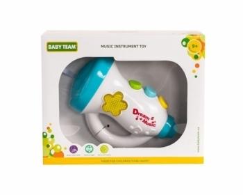 Купить Интерактивные и музыкальные игрушки, Игрушка музыкальная Baby Team Труба (8625 труба), Китай