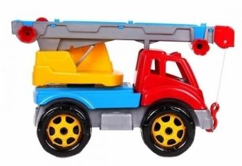 Игрушка ТехноК Автокран, красный (4562)