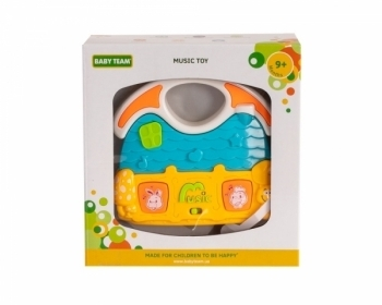 Купить Интерактивные и музыкальные игрушки, Игрушка музыкальная Baby Team Домик (8627 домик желто-голубой), Китай