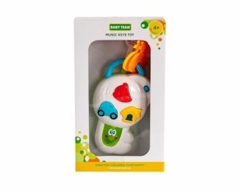 Купить Интерактивные и музыкальные игрушки, Игрушка музыкальная Baby Team Ключики (8622), Китай