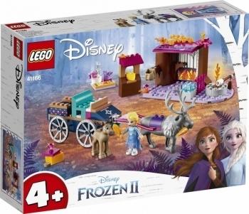 Купить Конструкторы LEGO, Конструктор LEGO Disney Princess Frozen 2 Дорожные приключения Эльзы, 116 деталей (41166), Китай