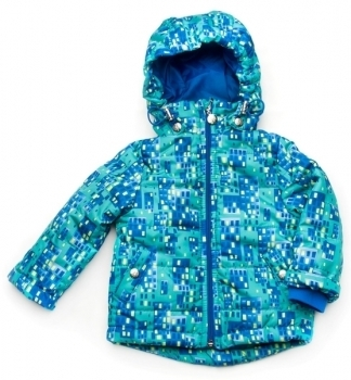 Куртка Модный карапуз, плащевка, р.104, синий (03-00802)