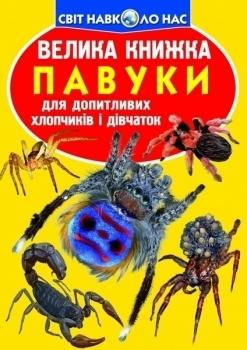 Купить Книги для обучения и развития, Велика книжка Павуки, Кристал Бук, Украина