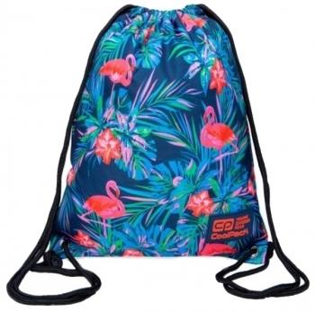Купить Детская обувь, Сумка для обуви CoolPack Solo Pink Flamingo, голубой (B72126), Китай, Голубой