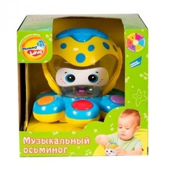 Купить Интерактивные и музыкальные игрушки, Интерактивная игрушка Mommy Love Музыкальный Осьминог (QX-91134E), Китай